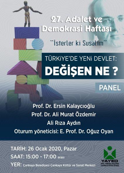 Türkiye'de Yeni Devlet: Değişen Ne?
